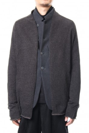 DEVOA 18-19AW Jacket Wool / Cotton Jersey