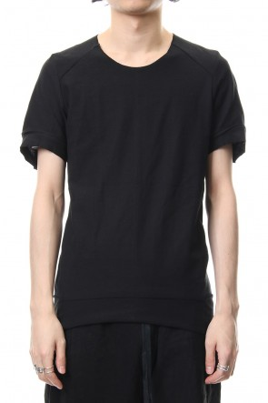 individual sentiments 19SS T-Shirts Basic Jersey Black - CT61S-LJ40