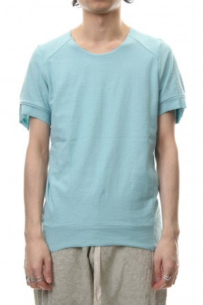 individual sentiments 19SS T-Shirts Basic Jersey Light Blue - CT61S-LJ40