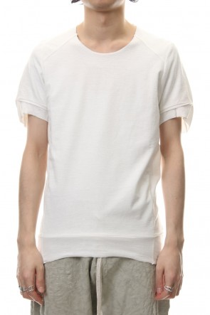 individual sentiments 19SS T-Shirts Basic Jersey Off White - CT61S-LJ40