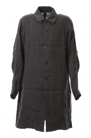 DEVOA 20SS Coat Linen / cotton wash
