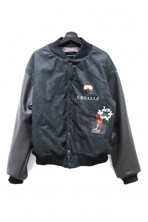 CAVIALE 20-21AW VARSIRTY BOMBER