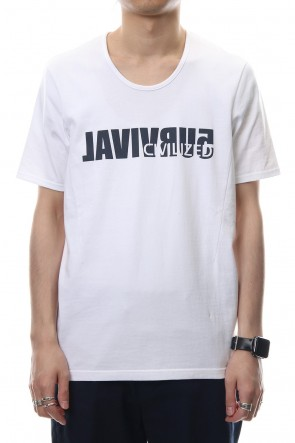 CIVILIZED 18SS SURVIVAL T-SHIRT - CV5A-0001