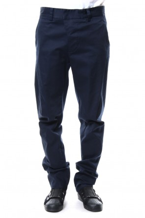 CIVILIZED 18SS EFFICIENT 3D CHINO PANTS - Navy - CVS-0002