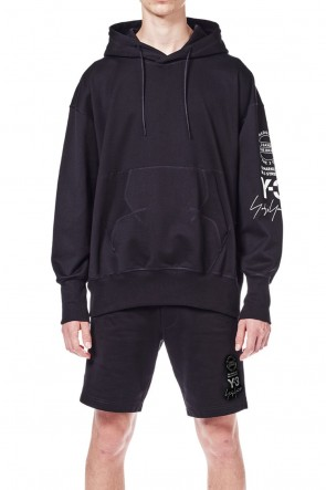 Y-3 18SS GRAPHIC HOODIE