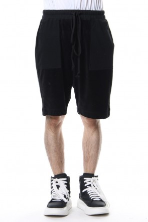 DIET BUTCHER SLIM SKIN 18-19AW Drawstring Ribbed Shorts
