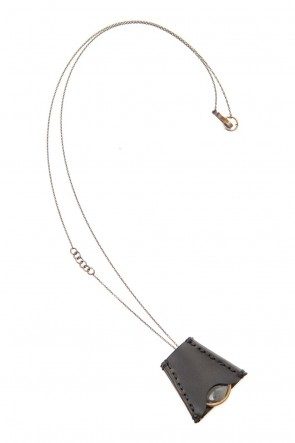 DEVOA 20SS Loupe necklace Brass