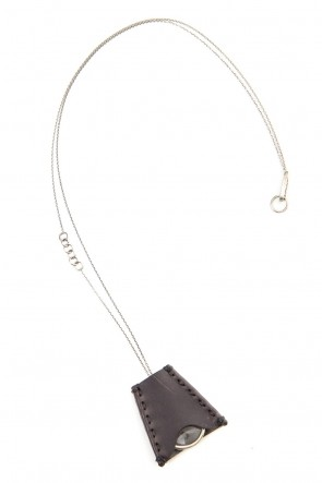 DEVOA 20SS Loupe necklace Silver