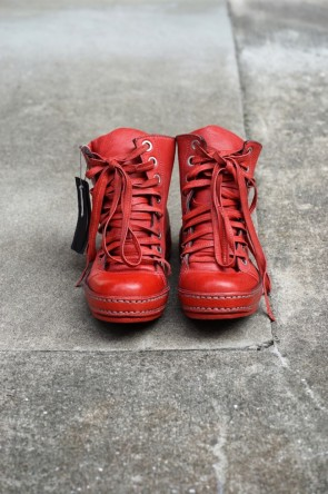 James Kearns BASIC 8holes Goat Leather RED
