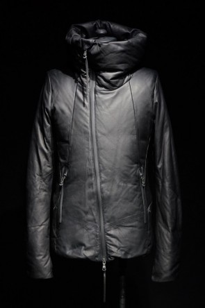 The Viridi-anne 16-17AW 16AW Ethiopian Lamb High Neck Down Jacket