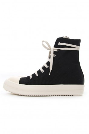DRKSHDW 18-19AW CANVAS HI-TOP SNEAKERS