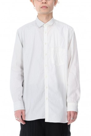 DUELLUM 21SS Stripe Paneled Shirts