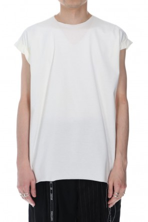 DUELLUM 21SS French Sleeve T-shirts White