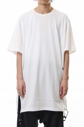 Y-3 19SS Y-3 Drawstring Long Tee White