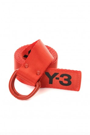 Y-3 19-20AW Y-3 Logo belt Orange