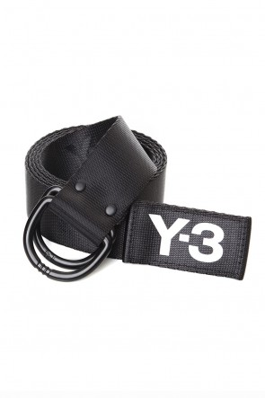 Y-3 19-20AW Y-3 Logo belt Black