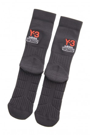 Y-3 19-20AW Y-3 Logo Sock Black