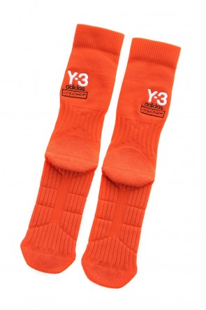 Y-3 19-20AW Y-3 Logo Sock Red