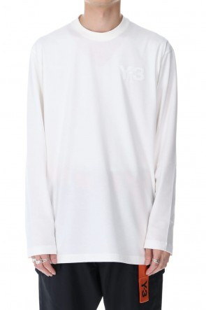 Y-3 20-21AW CLASSIC CHEST LOGO LS TEE
