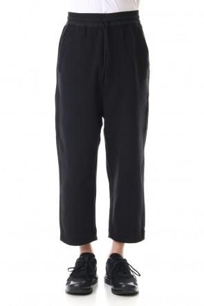 Y-320SSCLASSIC TERRY CROPPED PANTS