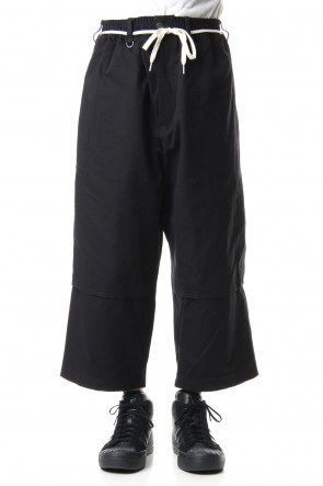 Y-3 20SS CANVAS WORKWEAR CROPPED PANTS