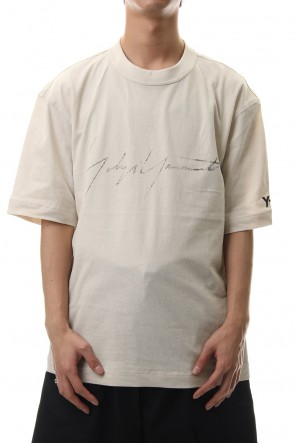 Y-3 20SS DISTRESSED SIGNATURE SS TEE