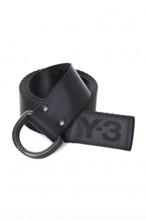 Y-3 19-20AW Y-3 Logo belt Carbon