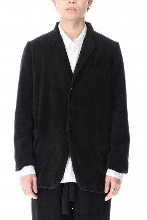 RICORRROBE 20-21AW Cotton Velor 3-B Jacket