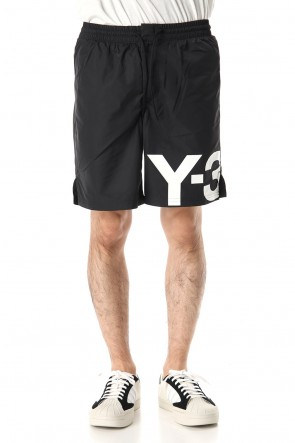 Y-3 20SS LARGE LOGO SWIM SHORTS