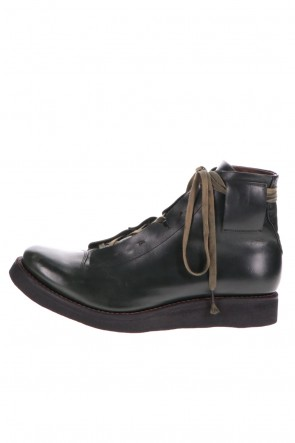 DEVOA 20-21AW Ankle boots calf leather Dark Green