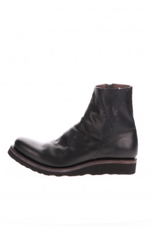 DEVOA 20-21AW Ankle boots Calf Leather Black