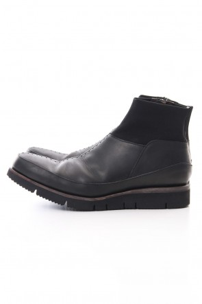 DEVOA 19SS Ankle boots calf leather