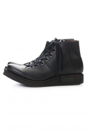 DEVOA 20SS Monkey boots Kudu leather - Black