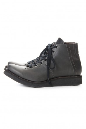 DEVOA 20SS Monkey boots Horse leather - Charcoal