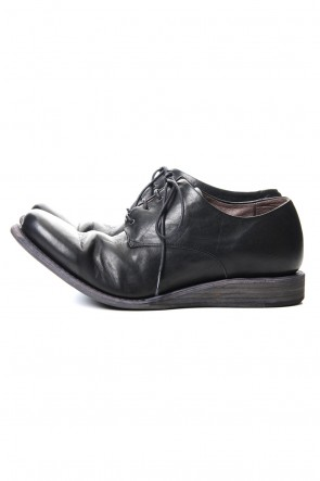 DEVOA 20SS Classic shoes horse leather - Black