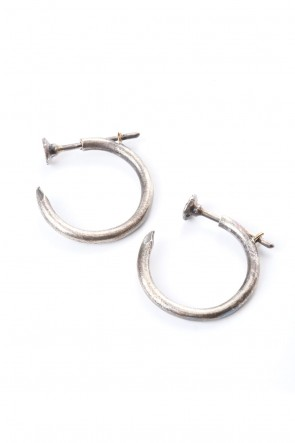 Guidi 20SS Nails Ring Earring