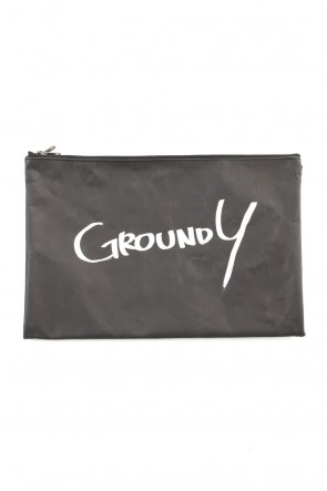 Ground Y 19-20AW Paper Clutch bag