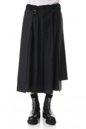 Ground YClassicRound and round skirt pants