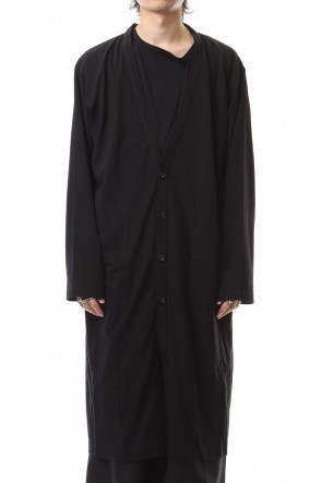 Ground Y19-20AW30/Cotton Jersey Long cardigan