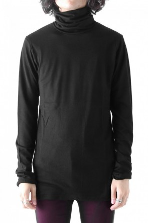 GalaabenD18-19AW2/72 Washer Pullover Jersey Wool Turtle Neck