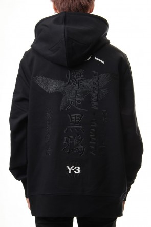 Y-3 20SS CRFT GRAPHIC HOODIE