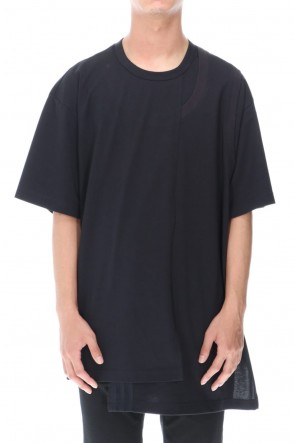 Y-3 20-21AW CH2 LAYERED SS TEE