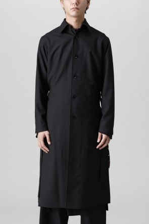 Ground Y21-22AWBack pleated Long shirt