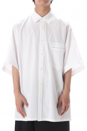 Ground Y 20SS Dolman Bigs Short Shirt White