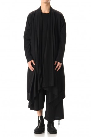 Ground Y 20SS Drape Cardigan Black