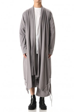 Ground Y 20SS Drape Cardigan Gray
