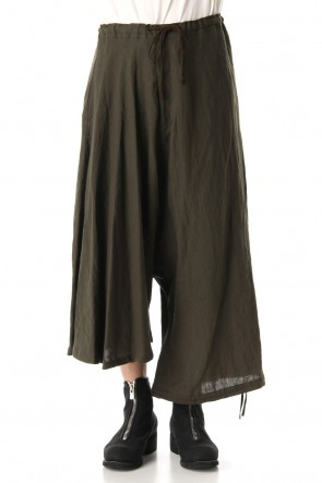 Ground Y 20SS Asymmetry Balloon Pants Khaki