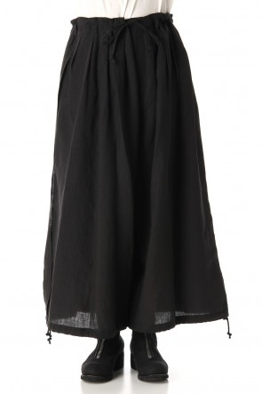 Ground Y 20SS Slit Balloon Pants Black