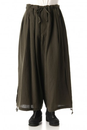 Ground Y 20SS Slit Balloon Pants Khaki