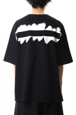 Ground Y 20SS Painted Big T-Shirt typ.A Black